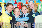 FLAG AWARD: Ciara Stack and Sinead ODonnell, (fourth class) Lauren Flavin and.Alannah Chute (sixth class) pupils of the Listowel Girls School and members of the.school committee who were awarded their An Taisce Green Flag.