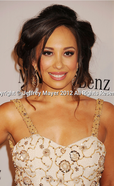 BEVERLY HILLS, CA - OCTOBER 20: Cheryl Burke arrives at the 26th Anniversary Carousel Of Hope Ball presented by Mercedes-Benz at The Beverly Hilton Hotel on October 20, 2012 in Beverly Hills, California.