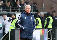 Trainer Jupp Heynckes (FC Bayern Muenchen) - 09.12.2017: Eintracht Frankfurt vs. FC Bayern München, Commerzbank Arena