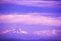 Mt. Hood from Windy Ridge, Mt. St. Helens National Volcanic Monument, Washington, US