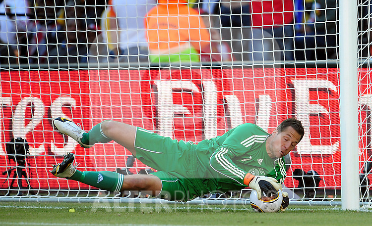 1 Thomas SORENSEN during the 2010 World Cup Soccer match between Denmark and Nederland played at Soccer City Stadium in Johannesburg South Africa on 14 June 2010.