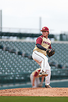 Stephen Wilmer (10) of Riverview (Sarasota) High School in Sarasota, Florida during the Under Armour All-American Pre-Season Tournament presented by Baseball Factory on January 15, 2017 at Sloan Park in Mesa, Arizona.  (Freek Bouw/MJP/Four Seam Images)