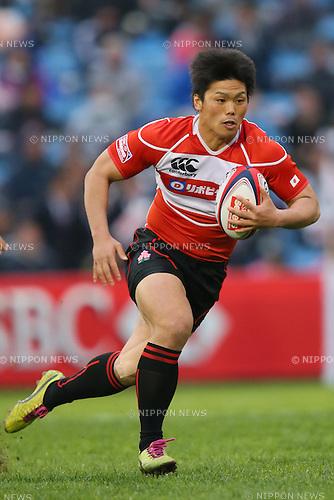 Katsuyuki Sakai (JPN), .MARCH 30, 2013 - Rugby : .HSBC Sevens World Series Round7 Japan .Tokyo Sevens 2013 .Pool C .New Zealand 41-5 Japan .at Prince Chichibu Memorial Stadium, Tokyo, Japan. .(Photo by YUTAKA/AFLO SPORT) [1040]