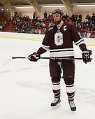 Thomas Larkin (Colgate - 27) - The Harvard University Crimson defeated the Colgate University Raiders 4-1 (EN) on Friday, February 15, 2013, at the Bright Hockey Center in Cambridge, Massachusetts.
