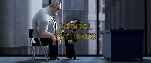 BOB PARR & MR. HUPH.in The Incredibles.Filmstill - Editorial Use Only.CAP/AWFF.supplied by Capital Pictures.