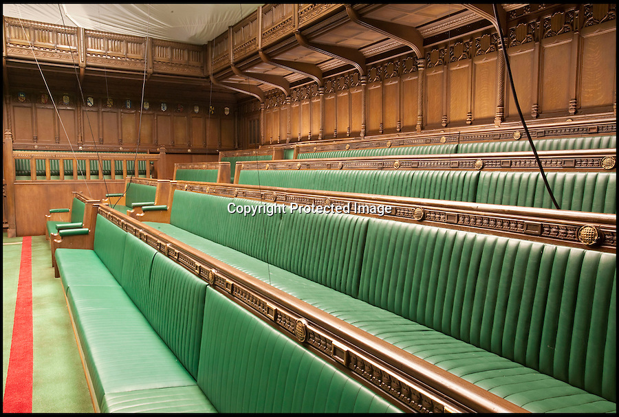 BNPS.co.uk (01202 558833)<br /> Pic: Cuttlestone/BNPS<br /> <br /> Forget cash for questions...you can now buy the whole House of Commons for just £100,000.<br /> <br /> Auctioneers Cuttlestones are selling the incredibly accurate set from the Meryl Streep movie The Iron Lady.<br /> <br /> Meticuluosly constructed from oak and leather the stunning set even includes the ceremonial mace and despatch boxes.<br /> <br /> US theme parks, film companys or wealthy individuals with a taste for history are thought to be amongst the likely bidders.