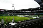 Stadionuebersicht waehrend der Begegnung SV Werder Bremen gegen Bayer 04 Leverkusen im Weserstadion Bremen.<br /><br />Sport: Fussball: 1. Bundesliga: Saison 19/20: 26. Spieltag: SV Werder Bremen - Bayer 04 Leverkusen, 18.05.2020<br /><br />Foto: Marvin Ibo Güngör/GES /Pool / via gumzmedia / nordphoto<br /><br />Nur für journalistische Zwecke! Only for editorial use!<br /><br />Gemäß den Vorgaben der DFL Deutsche Fußball Liga ist es untersagt, in dem Stadion und/oder vom Spiel angefertigte Fotoaufnahmen in Form von Sequenzbildern und/oder videoähnlichen Fotostrecken zu verwerten bzw. verwerten zu lassen. DFL regulations prohibit any use of photographs as image sequences and/or quasi-video.