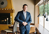 Wine Director and Owner of Barolo Grill Ryan Fletter in Denver, Colorado, Wednesday, May 23, 2018. Barolo Grill was awarded the Grand Award for 2018 by Wine Spectator Magazine.<br /> <br /> <br /> Photo by Matt Nager