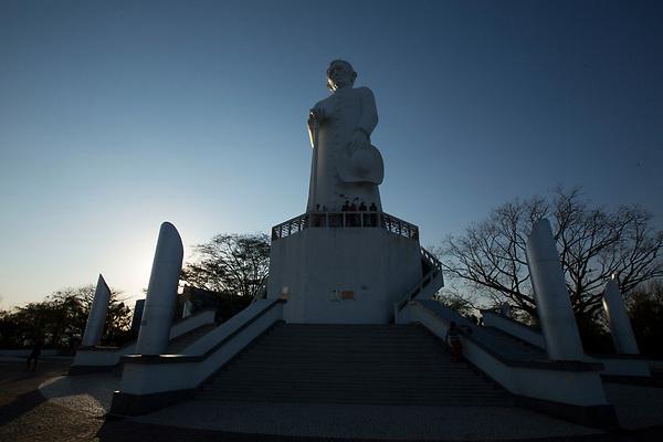 Juazeiro do Norte_CE, 15 de Setembro de 2012<br /> <br /> <br /> Na foto, a estatua de de Padre Cicero<br /> <br /> Foto: LEO DRUMOND / NITRO