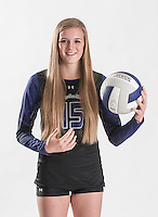 NWA Democrat-Gazette/ANTHONY REYES • @NWATONYR<br /> Ella May Powell of Fayetteville Wednesday, Dec. 2, 2015 at the Northwest Arkansas Democrat Gazette office in Springdale. Powell is the 2015 Volleyball Player of the year.
