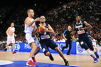 Tony PARKER - 15.07.2012 - France / Espagne - Match de preparation JO 2012 -Paris.Photo : Amandine Noel / Icon Sport