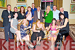 Jessica Sugrue, Killarney, pictured with some of her family and friends as she celebrated her 20th birthday in The Malton hotel, Killarney on Saturday night. ............................................................................................