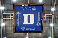 DURHAM, NC - JANUARY 16: The bottom of the scoreboard during a game between Notre Dame and Duke at Cameron Indoor Stadium on January 16, 2020 in Durham, North Carolina.