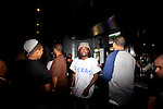Rapper Wale with his crew in Magic City, an Atlanta strip club, October 12, 2011.