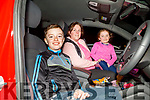 Darragh, Amy and Joanne O'Connor at the Causeway drive in cinema at the sports field on Friday showing the classic family movieMatilda and all proceeds are going to the Causeway Senior Citizen's Group,