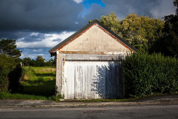 Garage, Brignogan Plage, Brittany