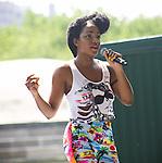 TK Wonder Performs at Raphael Saadiq/ Aloe Blacc - Central Park Summer Stage, New York 7/17/10