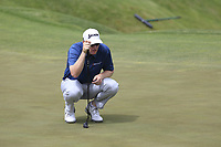 Ryan Brehm (USA) on the 5th green during Saturday's Round 3 of the 117th U.S. Open Championship 2017 held at Erin Hills, Erin, Wisconsin, USA. 17th June 2017.<br /> Picture: Eoin Clarke | Golffile<br /> <br /> <br /> All photos usage must carry mandatory copyright credit (&copy; Golffile | Eoin Clarke)