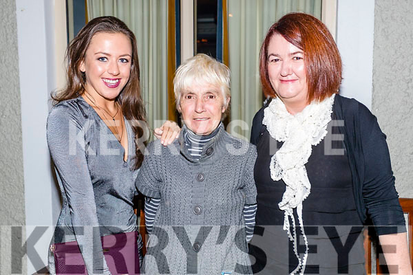Laura Reidy, Noreen Reidy and Lorena Beasley pictured at the John Mitchel's Strictly Come Dancing at the Ballygarry House Hotel on Sunday night.