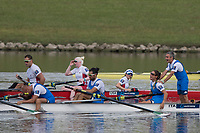 Sarasota. Florida USA.  Bronze Medalist. ITA PR 4+. Bow. Lucilla AGLIOTI, Tommaso<br /> SCHETTINO,  Luca AGOLETTO, Paola PROTOPAPA and Gaetano IANNUZZI,  Final A. 2017 World Rowing Championships, Nathan Benderson Park<br /> <br /> Saturday  30.09.17   <br /> <br /> [Mandatory Credit. Peter SPURRIER/Intersport Images].<br /> <br /> <br /> NIKON CORPORATION -  NIKON D500  lens  VR 500mm f/4G IF-ED mm. 250 ISO 1/2000/sec. f 5