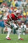 Madison, Wisconsin - 9/13/03. University of Wisconsin defensive back Lavonne Rowan (21) during the UNLV game at Camp Randall Stadium. UNLV beat Wisconsin 23-5. (Photo by David Stluka)