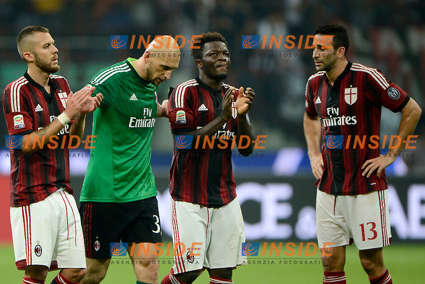 delusione giocatori Milan<br /> Milano 20-09-2014 Stadio Giuseppe Meazza - Football Calcio Serie A Milan - Juventus. Foto Giuseppe Celeste / Insidefoto