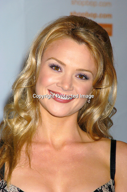 Lauren Woodland ..at the 10th Annual Daytime Television Salutes St. Jude Children's Research Hospital Benefit on October 8, 2004 at the Marriott Marquis Hotel in New York City...Photo by Robin Platzer, Twin Images