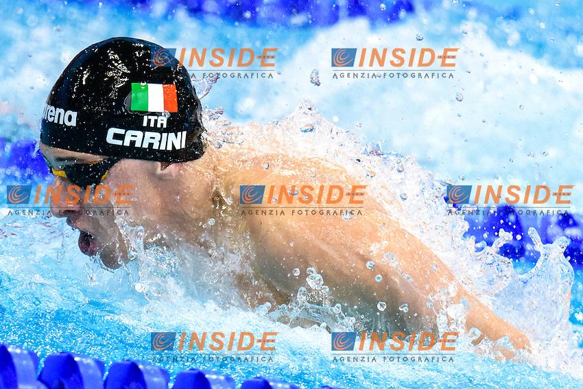 Giacomo CARINI ITA<br /> 50m Butterfly Men Preliminary   <br /> London, Queen Elizabeth II Olympic Park Pool <br /> LEN 2016 European Aquatics Elite Championships <br /> Diving  <br /> Day 08 16-05-2016<br /> Photo Andrea Staccioli/Deepbluemedia/Insidefoto