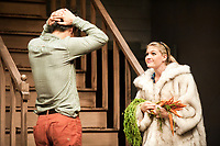 Occidental College Dept. of Theater presents Buried Child, dress rehearsal, November 10, 2009 in Keck Theater. (Photo by Marc Campos, College Photographer, Copyright Occidental College 2009)