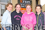 Alanna O'Sullivan, Katie Halpenny, Laura Brosnan and Nicole Moriarty Killorglin enjoying Kfest in Killorglin on Sunday