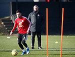 Chris Wilder of Sheffield Utd during the Press Conference & Training at the Steelphalt Academy, Sheffield. Picture date: 7th February 2020. Picture credit should read: Simon Bellis/Sportimage