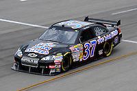 May 1, 2009; Richmond, VA, USA; NASCAR Sprint Cup Series driver Tony Raines during practice for the Russ Friedman 400 at the Richmond International Raceway. Mandatory Credit: Mark J. Rebilas-