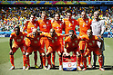 Netherlands team group line-up (NED), JUNE 29, 2014 - Football / Soccer : FIFA World Cup Brazil<br /> match between Netherlands and Mexico at the Castelao stadium in Fortaleza, Brazil. (Photo by AFLO)