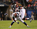 MICHAEL BUSH (29), of the Chicago Bears, in action during the Bears preseason game against the Denver Broncos on August 9, 2012 at Soldier Field in Chicago, IL. The Broncos beat the Bears 31-3.