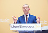 Liberal Democrat Leadership press conference. <br /> Tim Farron - outgoing leader <br /> <br /> <br /> 20th July 2017 <br /> at The St Ermin&rsquo;s Hotel, London. Great Britain <br /> &nbsp;<br /> <br /> <br /> Photograph by Elliott Franks <br /> Image licensed to Elliott Franks Photography Services