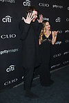 Music group Marian Hill - Jeremy Llyod and Samantha Gongol arrive at the 2017 Clio Awards in The Tent at Lincoln Center in New York City on September 27, 2017.