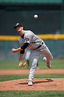 Akron RubberDucks pitcher Kyle Nelson (39) during an Eastern League game against the Erie SeaWolves on June 2, 2019 at UPMC Park in Erie, Pennsylvania.  Akron defeated Erie 7-2 in the first game of a doubleheader.  (Mike Janes/Four Seam Images)