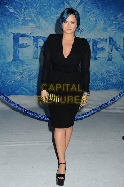 19 November 2013 - Hollywood, California - Demi Lovato. 'Frozen' Los Angeles film premiere held at the El Capitan Theatre<br /> CAP/ADM/BP<br /> &copy;Byron Purvis/AdMedia/Capital Pictures