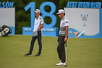 Rafael Cabrera Bello (ESP) waits to putt on 17 during round 3 of the AT&T Byron Nelson, Trinity Forest Golf Club, Dallas, Texas, USA. 5/11/2019.<br /> Picture: Golffile | Ken Murray<br /> <br /> <br /> All photo usage must carry mandatory copyright credit (© Golffile | Ken Murray)