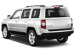 Rear three quarter view of a 2012 Jeep Patriot Latitude