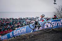 Jolanda Neff (SUI/Trek-Segafredo)<br /> <br /> Women&rsquo;s Elite race<br /> <br /> UCI 2019 Cyclocross World Championships<br /> Bogense / Denmark<br /> <br /> &copy;kramon