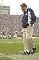 20 November 2004: Joe Paterno..Penn State defeated Michigan State 37-13 November 20, 2004 at Beaver Stadium in State College, PA..