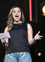 11 June 2017 - Nashville, Tennessee - Hayley Orrantia. 2017 CMA Music Festival Nightly Concert held at Nissan Stadium. Photo Credit: Laura Farr/AdMedia