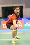Kenichi Tago (JPN), <br /> SEPTEMBER 20, 2013 - Badminton : <br /> Yonex Open Japan 2013 <br /> Men's Singles <br /> at Tokyo Metropolitan Gymnasium, Tokyo, Japan. <br /> (Photo by YUTAKA/AFLO SPORT) [1040]