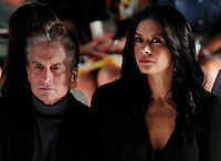 Michael Douglas and Catherine Zeta-Jones attend the Michael Kors show Collection Spring 2013 Mercedes-Benz Fashion Week Show at The Lincoln Center in New York, United States. 12/09/2012. Photo by Kena Betancur/VIEWpress.