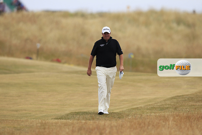 Shane LOWRY (IRL) during round 4 of  The 142th Open Championship Muirfield, Gullane, East Lothian, Scotland 21/7/2013<br /> Picture Eoin Clarke www.golffile.ie: