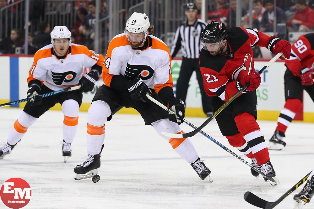 half off 57992 6c322 NHL: Philadelphia Flyers at New Jersey Devils | Ed ...