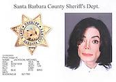 Police mug shot of Michael Jackson, who was booked on child molestation charges in Santa Barbara, California on November 20, 2003..Credit: Santa Barbara Sheriff's Department via CNP