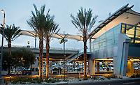 "San Diego International Airport, Terminal 2 ""Green Build"", 2014--a contemporary look with sustainable landscaping. Patricia Trauth, Landscape Architect. Photo by John Livzey."