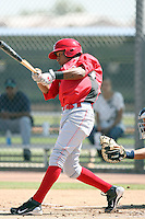 Yorman Rodriguez, Cincinnati Reds minor league spring training..Photo by:  Bill Mitchell/Four Seam Images.